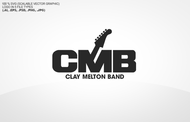 Clay Melton Band Logo - Entry #118