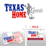 Texas Home Genie Logo - Entry #9