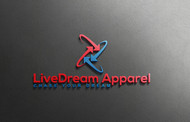 LiveDream Apparel Logo - Entry #339