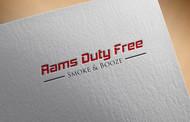 Rams Duty Free + Smoke & Booze Logo - Entry #110