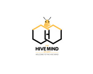The Hive Mind Apiary Logo - Entry #129