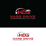 Hard drive garage Logo - Entry #189