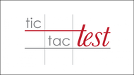 TicTacTest Logo - Entry #14