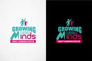 Growing Little Minds Early Learning Center or Growing Little Minds Logo - Entry #156