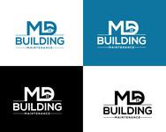 MD Building Maintenance Logo - Entry #54