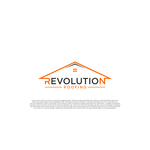 Revolution Roofing Logo - Entry #356