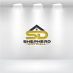 Shepherd Drywall Logo - Entry #86