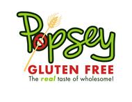 gluten free popsey  Logo - Entry #173