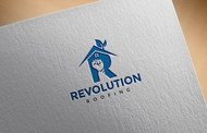 Revolution Roofing Logo - Entry #480