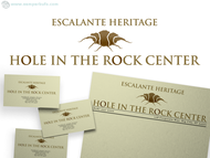 Escalante Heritage/ Hole in the Rock Center Logo - Entry #15