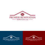 Premier Renovation Services LLC Logo - Entry #145