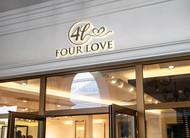 Four love Logo - Entry #268