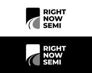Right Now Semi Logo - Entry #154