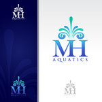 MH Aquatics Logo - Entry #126