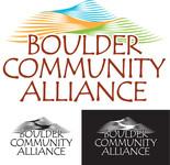 Boulder Community Alliance Logo - Entry #77