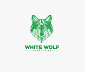 White Wolf Consulting (optional LLC) Logo - Entry #304
