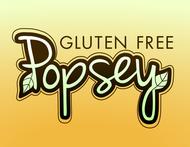 gluten free popsey  Logo - Entry #73