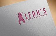 Leah's auto & nail lounge Logo - Entry #41