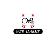 Logo for WebAlarms - Alert services on the web - Entry #191