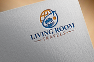 Living Room Travels Logo - Entry #29