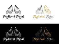 Medieval Metal Logo - Entry #80