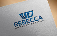 Rebecca Munster Designs (RMD) Logo - Entry #177