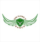 The Flying V Ranch Logo - Entry #55
