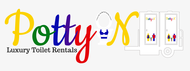 Potty On Luxury Toilet Rentals Logo - Entry #68