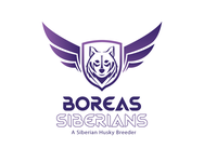 Siberian Husky Logo - Entry #69