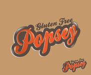 gluten free popsey  Logo - Entry #62