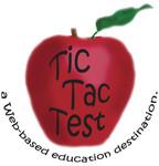 TicTacTest Logo - Entry #17