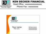 Ken Decker Financial Logo - Entry #59