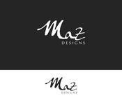 Maz Designs Logo - Entry #393
