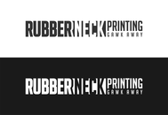 Rubberneck Printing Logo - Entry #9