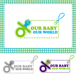 Logo for our Baby product store - Our Baby Our World - Entry #10