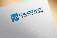 CA Coast Construction Logo - Entry #102