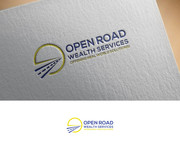 "Open Road Wealth Services, LLC  (The ""LLC"" can be dropped for design purposes.) Logo - Entry #14"