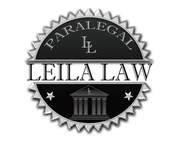 Leila Law Logo - Entry #64