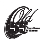 """""""OLD 55"""" - mid-century vintage furniture and wares store Logo - Entry #239"""