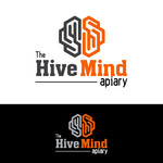 The Hive Mind Apiary Logo - Entry #17