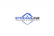 STREAMLINE building & carpentry Logo - Entry #163