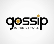 Gossip Interior Design Logo - Entry #82