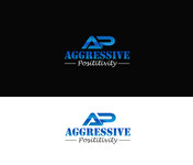 Aggressive Positivity  Logo - Entry #1