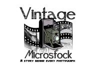 Vintage Microstock Logo - Entry #63