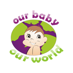 Logo for our Baby product store - Our Baby Our World - Entry #78