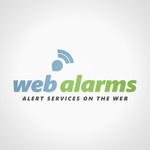 Logo for WebAlarms - Alert services on the web - Entry #137
