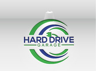 Hard drive garage Logo - Entry #286