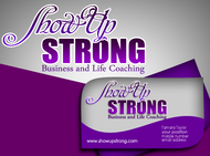 SHOW UP STRONG  Logo - Entry #100