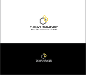 The Hive Mind Apiary Logo - Entry #96