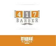 417 Barber Logo - Entry #36